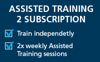 Assisted Training 2 Subscription - $140/week